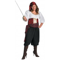 First Mate Adult Plus Costume - XX-Large (22-24)