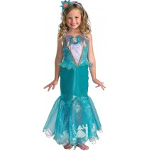 Disney Storybook Ariel Prestige Toddler / Child Costume - Small (4-6X)