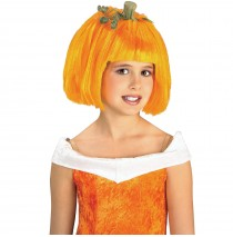 Pumpkin Spice Child Wig  - One-Size