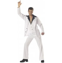 Saturday Night Fever Adult Costume - Large (42-44)