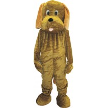 Adult Puppy Mascot Costume Set - One-Size