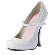 Babydoll (White) Adult Shoes - 9
