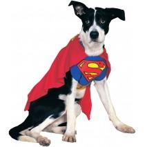 Superman Dog Costume - Large
