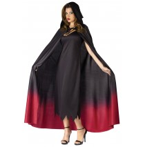 Ombre Hooded Adult Cape - One-Size