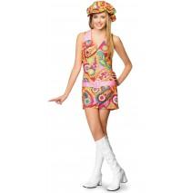 Groovy Hippie Teen Costume - Small/Medium