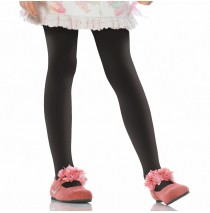 Black Opaque Tights Child - X-Large (11/13)