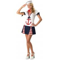 Sassy Sailor Teen Costume - Small (1-3)