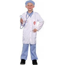 Doctor Child Costume - Small (4-6)
