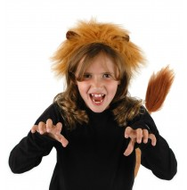 Lion Ears and Tail  - One-Size
