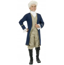 George Washington Child Costume - Medium (8-10)