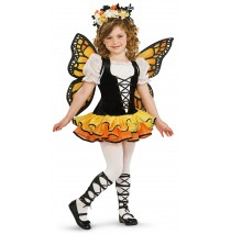 Monarch Butterfly Child Costume - Large (12/14)