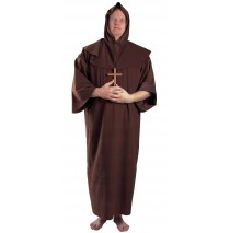 Monk Adult Plus Costume - XX-Large (50-52)
