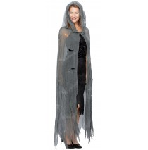 Ghostly Adult Cape - One-Size