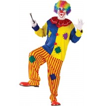 Big Top Clown Adult Plus Costume - Plus