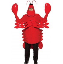 Lobster Adult Costume - One Size Fits Most Adults