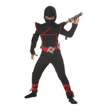 Stealth Ninja Child Costume - Husky (8-10)