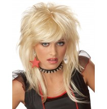 Rebellious Blonde Wig (Child / Tween) - Child/Tween