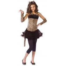Wild Cat Teen Costume - Teen (0-9)