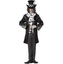Dark Mad Hatter Adult Costume - Large