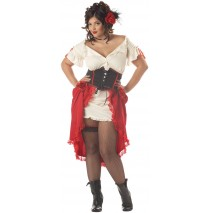 Cantina Gal Adult Plus Costume - 3XL (18-20)