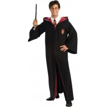 Harry Potter Deluxe Robe Adult Costume - One-Size (Standard)