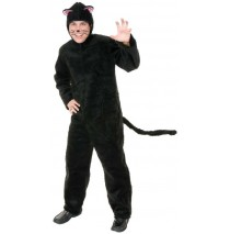Plush Cat Adult Costume - X-Large