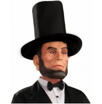 Abraham Lincoln Latex Adult Mask - One Size Fits Most Adults