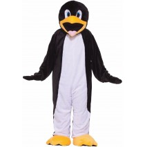 Penguin Plush Economy Mascot Adult Costume - Standard (One Size)