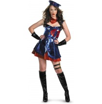 GI Joe Sexy Cobra Deluxe Adult Costume - Medium (8-10)