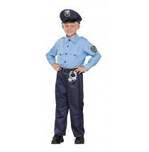 Deluxe Policeman Child Costume - Small (4-6)