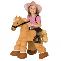 Plush Pony Child Costume - One Size (Fits Sizes 4-8)