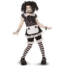 Gothic Rag Doll Child/Tween Costume - Tween (12-14)