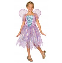 Light-Up Coral Fairy Child Costume - Small (4-6)