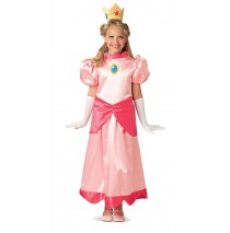 Super Mario Deluxe Princess Peach Child Costume - Large (12-14)