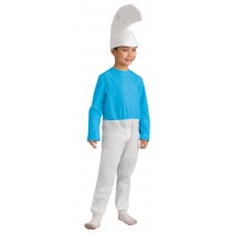 The Smurfs-Smurf Child Costume - Small (4-6)