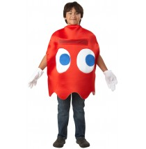 Pac-Man Blinky Deluxe Child Costume - One Size Fits Most Kids
