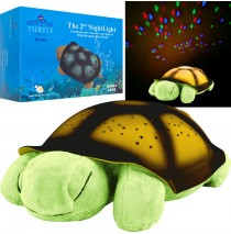 Constellation Night Light Turtle with Music - Green