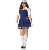 Ship Shape Captain Adult Plus Costume - 1X/2X
