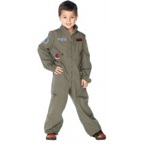 Top Gun - Flight Suit Toddler / Child Costume - Large (10-12)