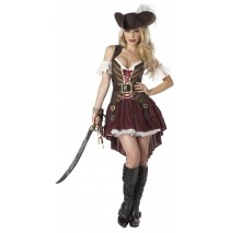 Sexy Swashbuckler Adult Plus Costume - 2X