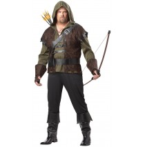Robin Hood Adult Plus Costume - Plus