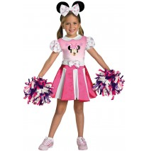 Mickey Mouse Clubhouse - Minnie Mouse Cheerleader Toddler / Child Costume - Toddler (2T)