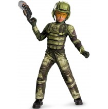 Foot Soldier Muscle Child Costume - Small (4/6)