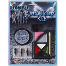 Zombie Make Up Kit - One-Size