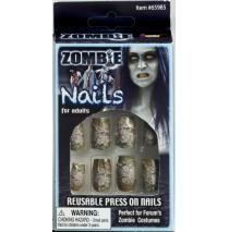 Zombie Nails Adult - One-Size