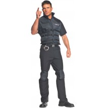 SWAT Plus Adult Costume - XX-Large