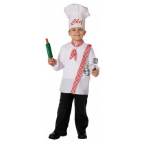 Chef Child Costume Kit - Fits Sizes 4 to 8