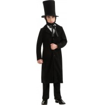 Abraham Lincoln Child Costume - Large