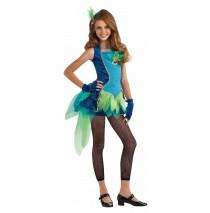 Peacock Tween Costume - Tween Small
