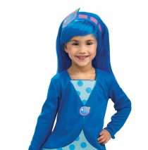 Strawberry Shortcake - Blueberry Muffin Wig (Child) - One-Size